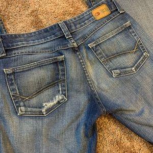 BKE Star Stretch Flare Jeans Short Inseam